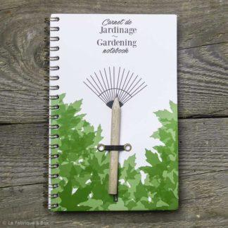 carnet de jardinage