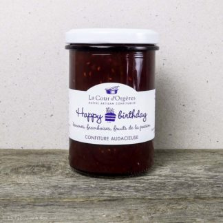 confiture happy birthday