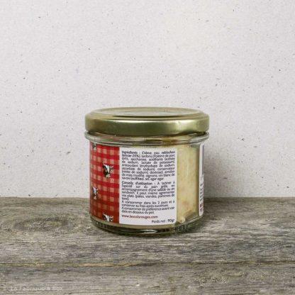 Le tartinable au reblochon, lardons et oignons