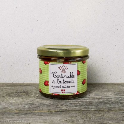 tartinable à la tomate et ail des ours