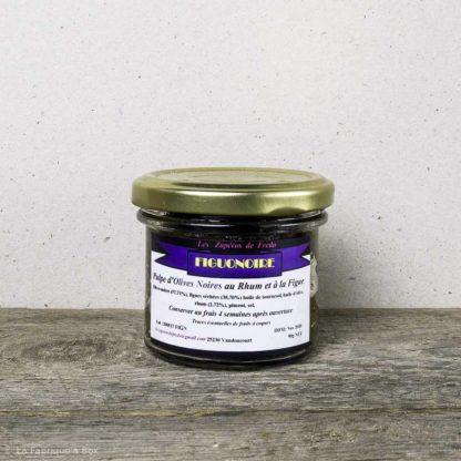 tapenade aux olives noires figuonoire