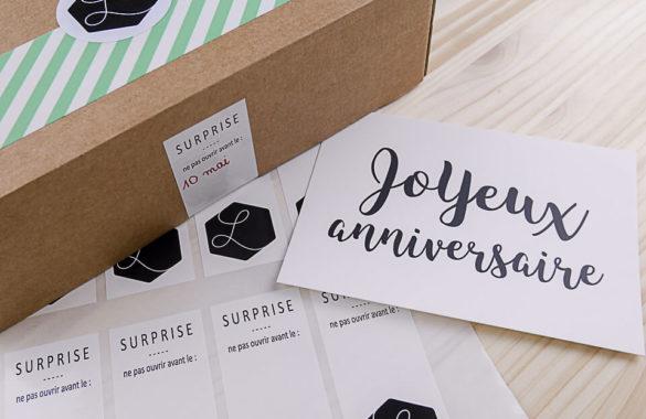 cadeau anniversaire à envoyer