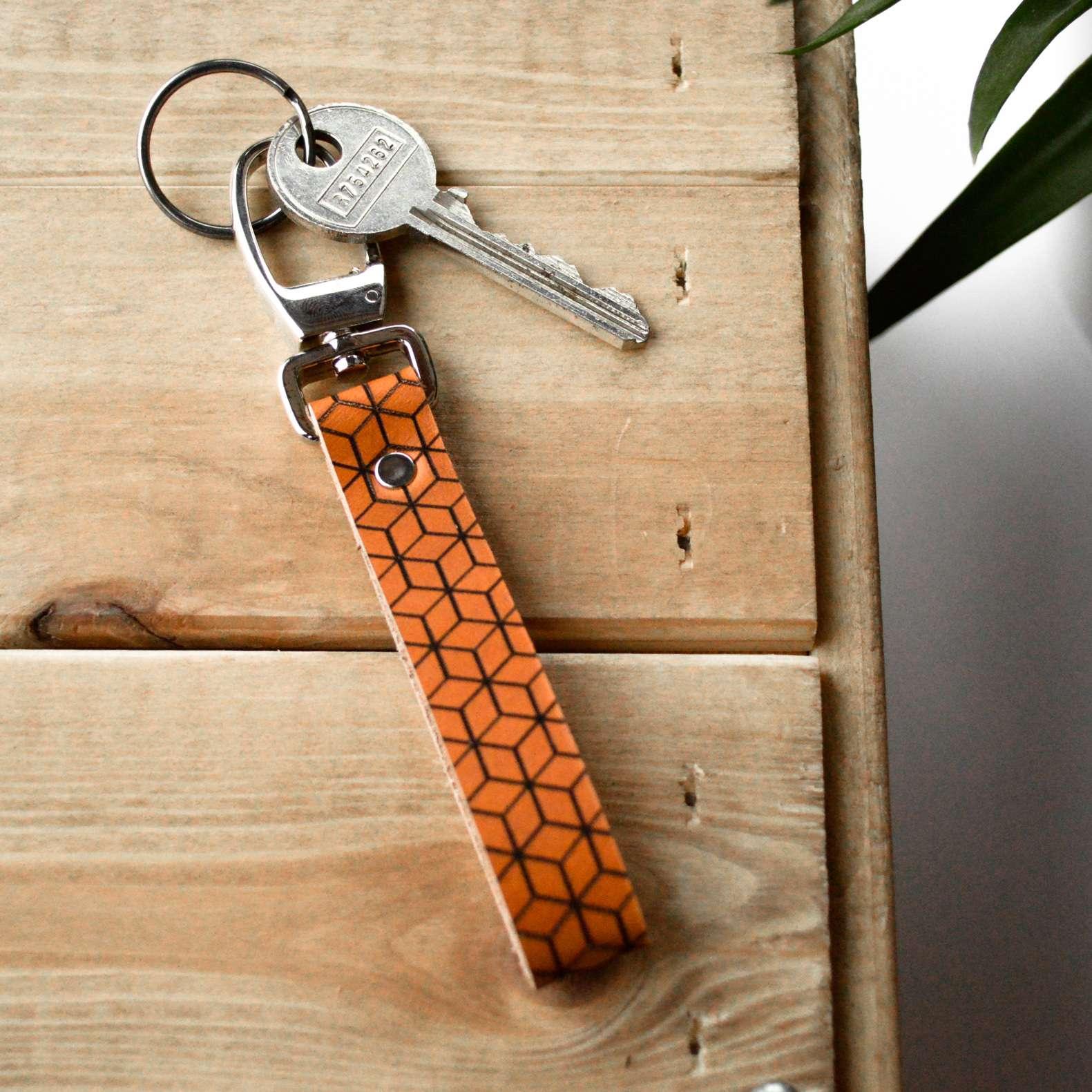 Le porte-clés LEON miel