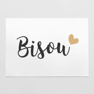 carte bisou