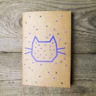 le carnet de notes chat
