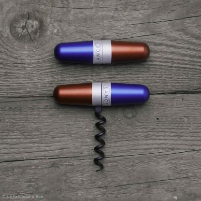 Le tire-bouchon de poche « bleu blanc rouge »