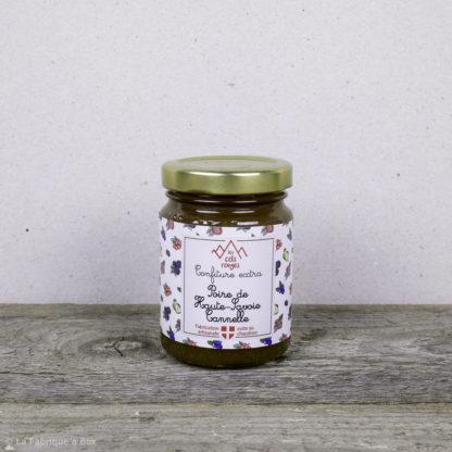 la confiture poire de haute savoie cannelle