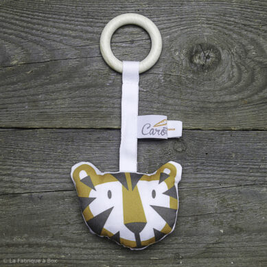 anneau de dentition tigre