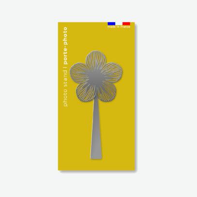 le porte photo fleur