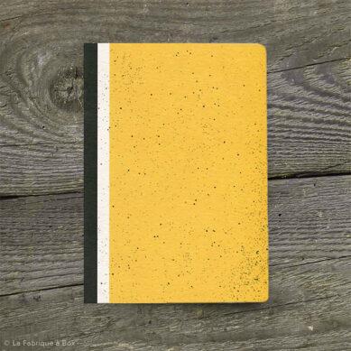 carnet hubble moutarde